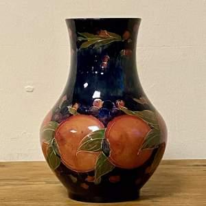 William Moorcroft Pottery Large Pomegranate Vase