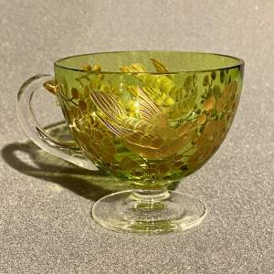 Moser Green Glass Cup