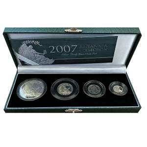 2007 Silver Proof Four Coin Set