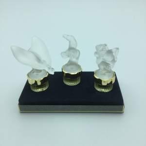 Lalique Falcons Collection Mascottes