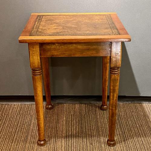 Early 20th Century Small Square Writing Table image-4