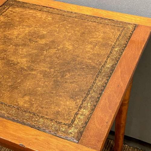 Early 20th Century Small Square Writing Table image-3