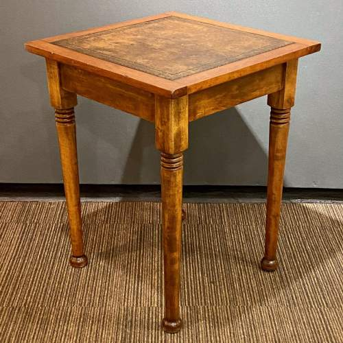Early 20th Century Small Square Writing Table image-1