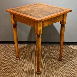 Early 20th Century Small Square Writing Table