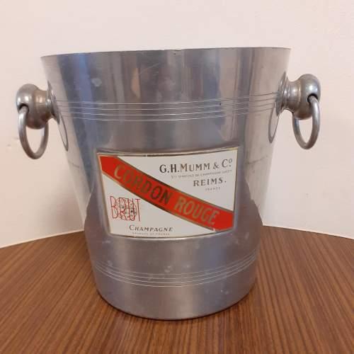 Vintage Champagne Cooler by G H Mumm image-1