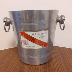 Vintage Champagne Cooler by G H Mumm