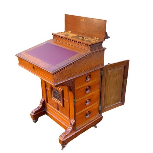 Victorian Mahogany Davenport Desk image-1