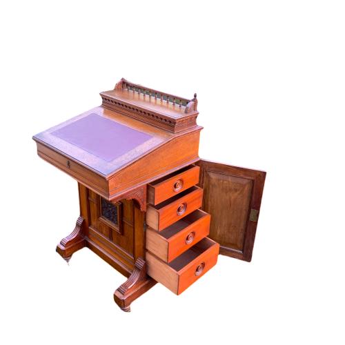 Victorian Mahogany Davenport Desk image-2