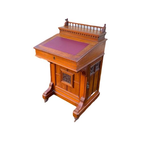 Victorian Mahogany Davenport Desk image-3
