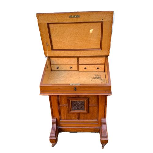Victorian Mahogany Davenport Desk image-4