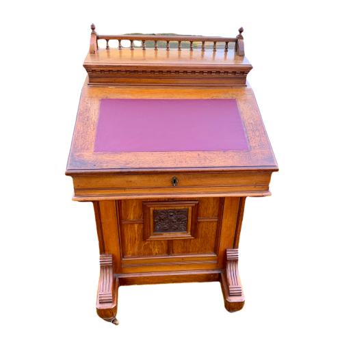 Victorian Mahogany Davenport Desk image-6