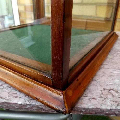 Edwardian Mahogany Glazed Shop Counter Top Display Case image-6