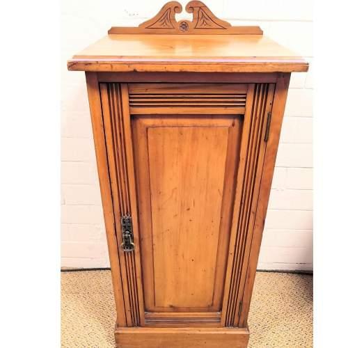 Victorian Pot Cupboard or Bedside Cabinet image-1