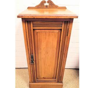Victorian Pot Cupboard or Bedside Cabinet