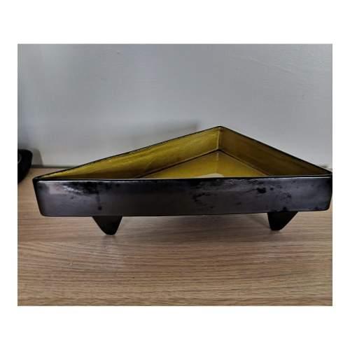 Beswick Modernist Triangular Dish image-1