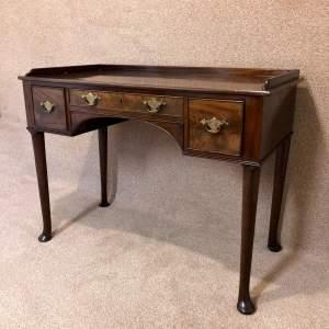 19th Century Mahogany Writing Table