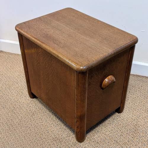 Art Deco Cellarette Wine Cooler Storage Box image-2