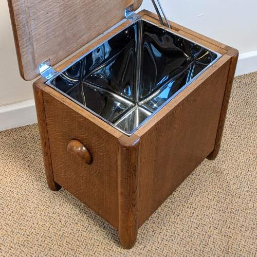 Art Deco Cellarette Wine Cooler Storage Box image-4