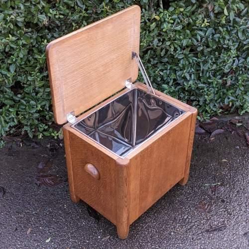 Art Deco Cellarette Wine Cooler Storage Box image-5