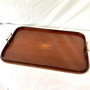 Edwardian Shell Inlay Serving Tray