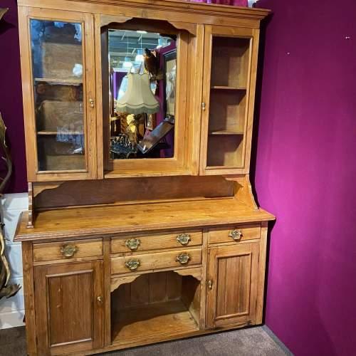 Late 19th Century Pine Dresser image-1