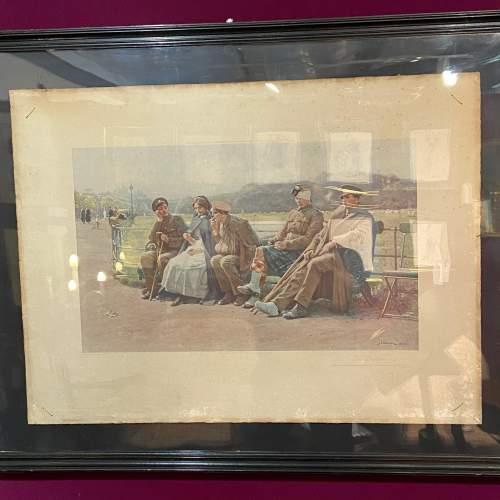 Original 1916 Photogravue Print Of The Creditors image-1