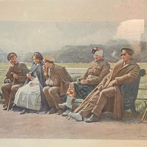 Original 1916 Photogravue Print Of The Creditors image-2