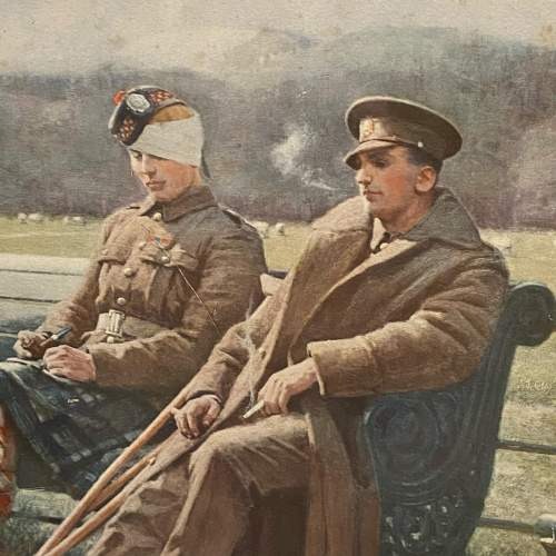 Original 1916 Photogravue Print Of The Creditors image-4