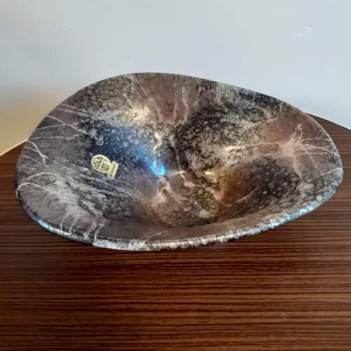 West German Ceramic Vintage Bowl by Ruscha Ceramics image-2