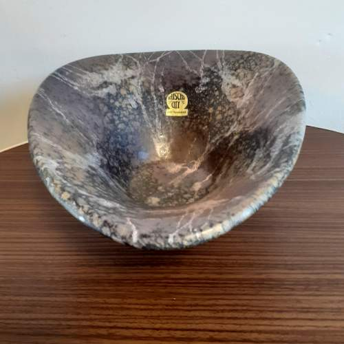 West German Ceramic Vintage Bowl by Ruscha Ceramics image-4