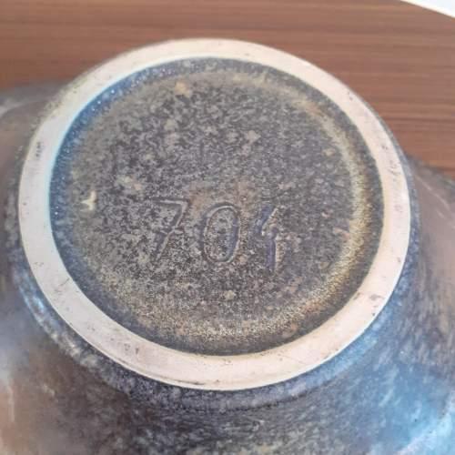 West German Ceramic Vintage Bowl by Ruscha Ceramics image-5
