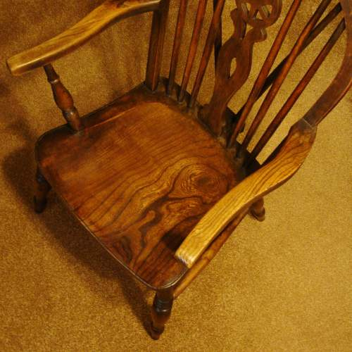 A Pair of  Victorian Windsor Chairs image-3