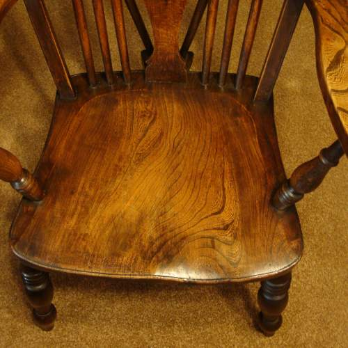 A Pair of  Victorian Windsor Chairs image-4