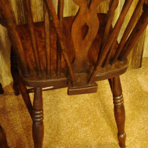 A Pair of  Victorian Windsor Chairs image-5