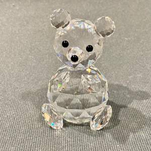 Swarovski Crystal Large Bear