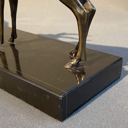 20th Century Pair of Art Deco Antelopes image-6