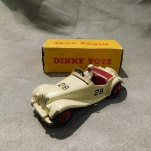 Dinky Toys 108 MG Midget Competition in Cream with Box