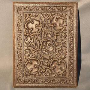 19th Century Carved Wooden Panel