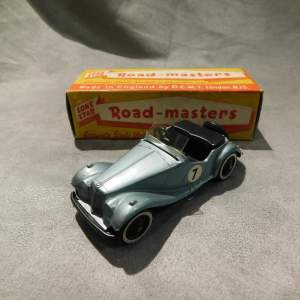 Lone Star MG TF issued 1960 Silver in Box