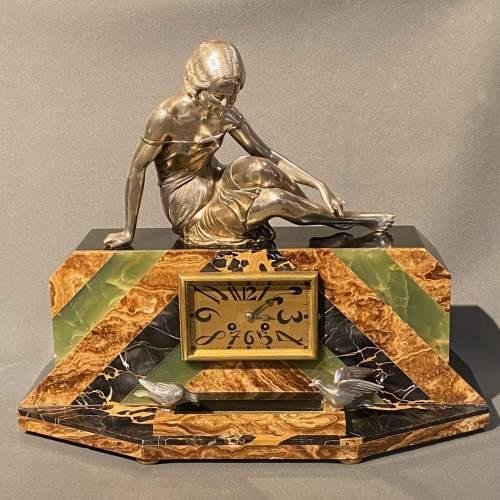 20th Century Art Deco Mantel Clock image-1
