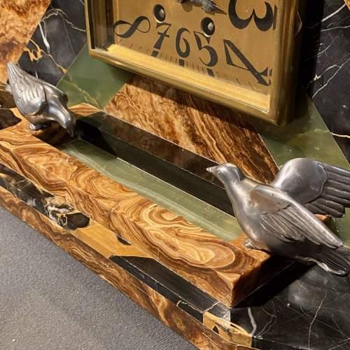 20th Century Art Deco Mantel Clock image-4