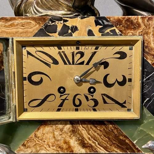 20th Century Art Deco Mantel Clock image-5