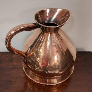 19th Century Copper Harvest Jug