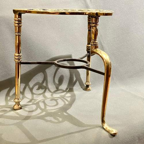 Late Victorian Brass and Iron Footman image-3