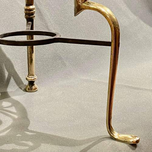 Late Victorian Brass and Iron Footman image-6