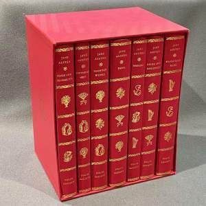 20th Century Folio Jane Austin Book Collection