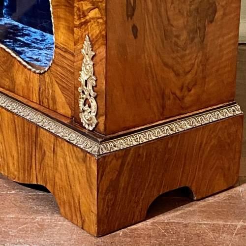 Victorian Burr Walnut Pier Cabinet image-6