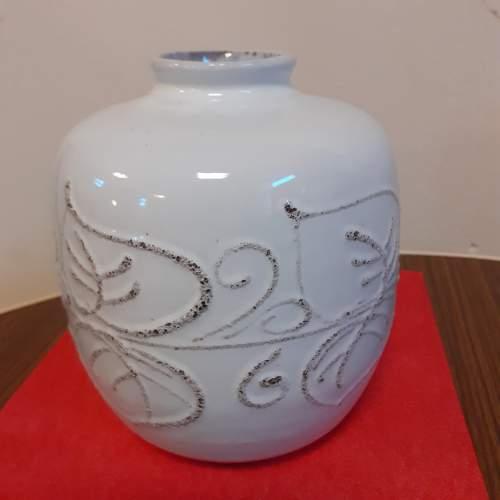 East German Vintage Ceramic Strehla Vase image-1