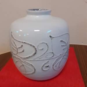East German Vintage Ceramic Strehla Vase