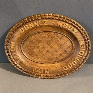 French Oval Bread Board